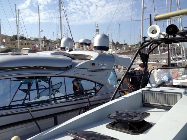 sequestrato lo yacht