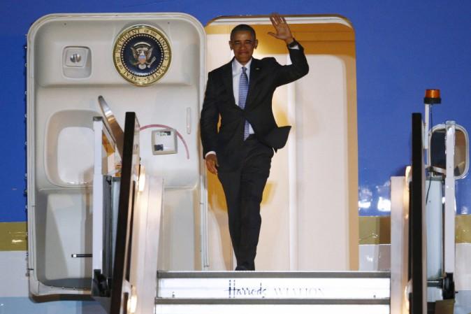 Obama atterra a Hiroshima