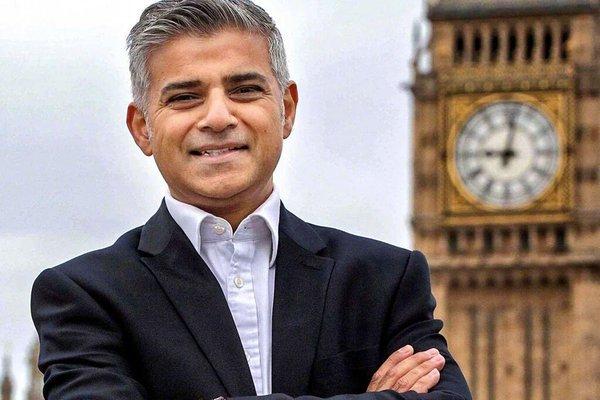 Sadiq Khan sindaco di Londra