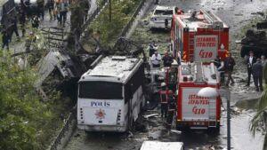 autobomba nel centro di Istanbul