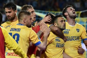 Frosinone in serie A, Palermo battuto