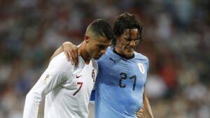 Mondiali, Uruguay batte Portogallo: la delusione di CR7
