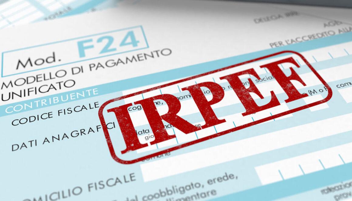 Modello F24 IRPEF
