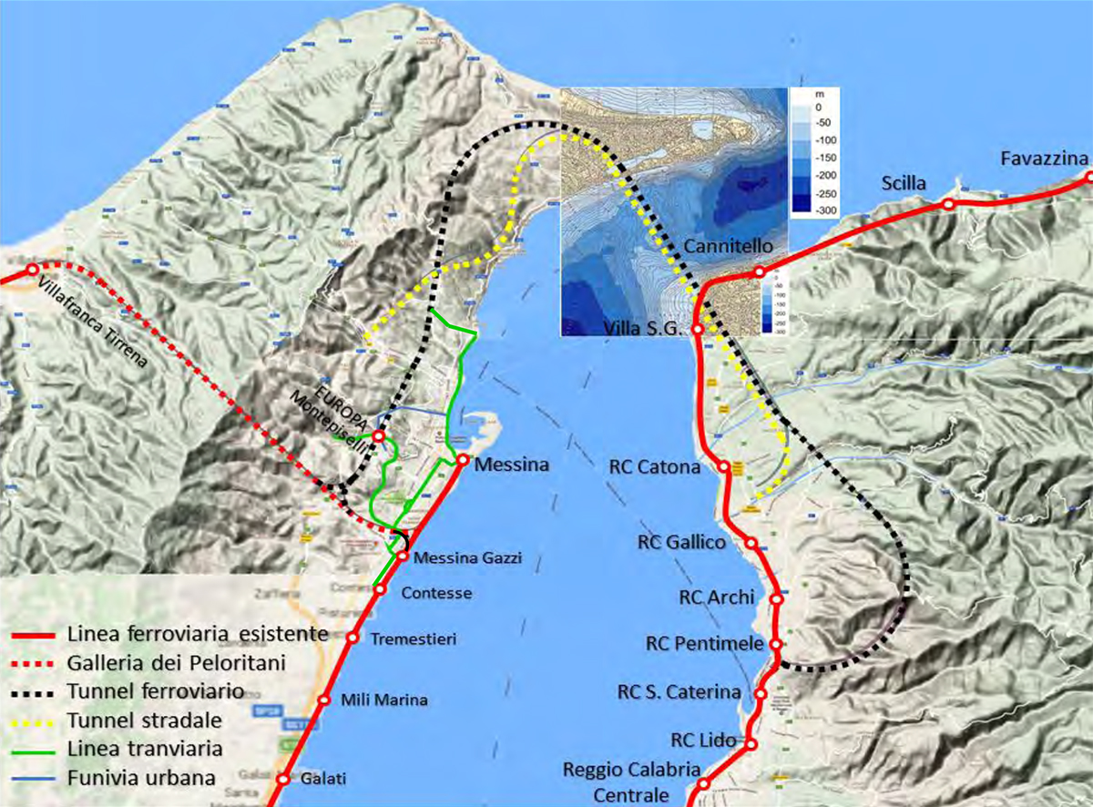 Tunnel Stretto-di-Messina