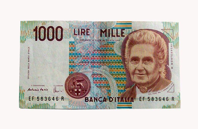 Banconote mille lire