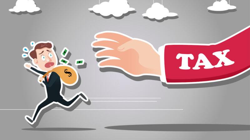 Non pagare tasse