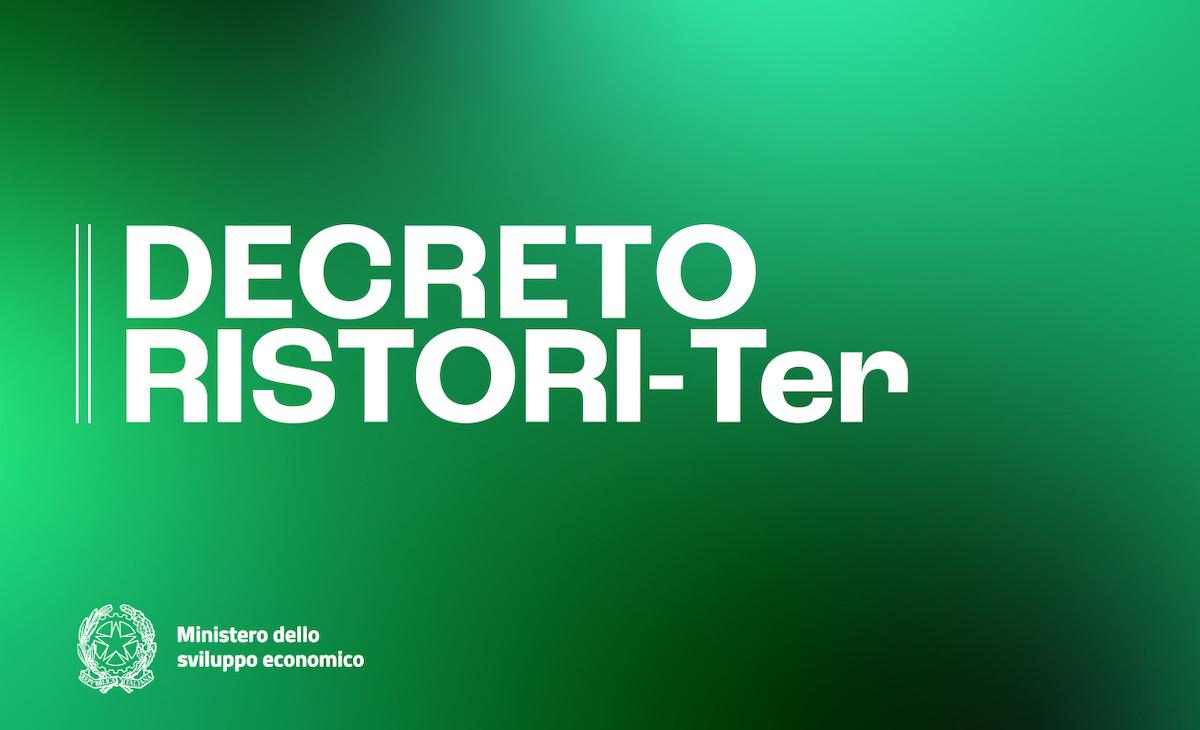 Logo Decreto Ristori ter