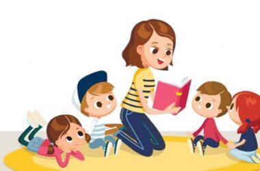 disegno stilizzato baby sitter