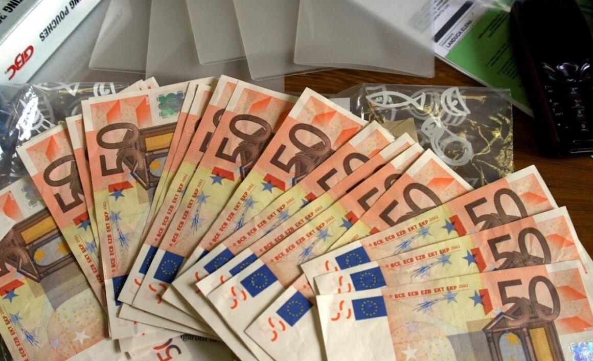 insieme di banconote
