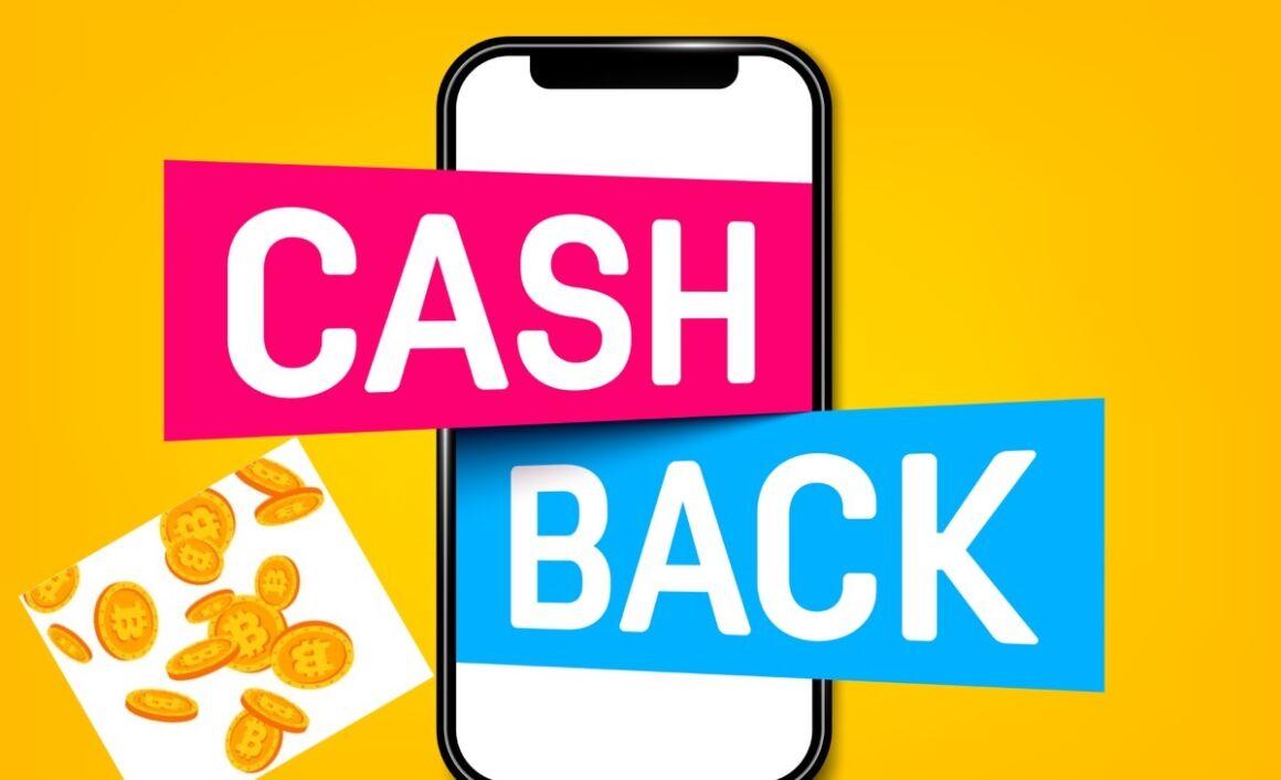 Disegno smartphone cashback