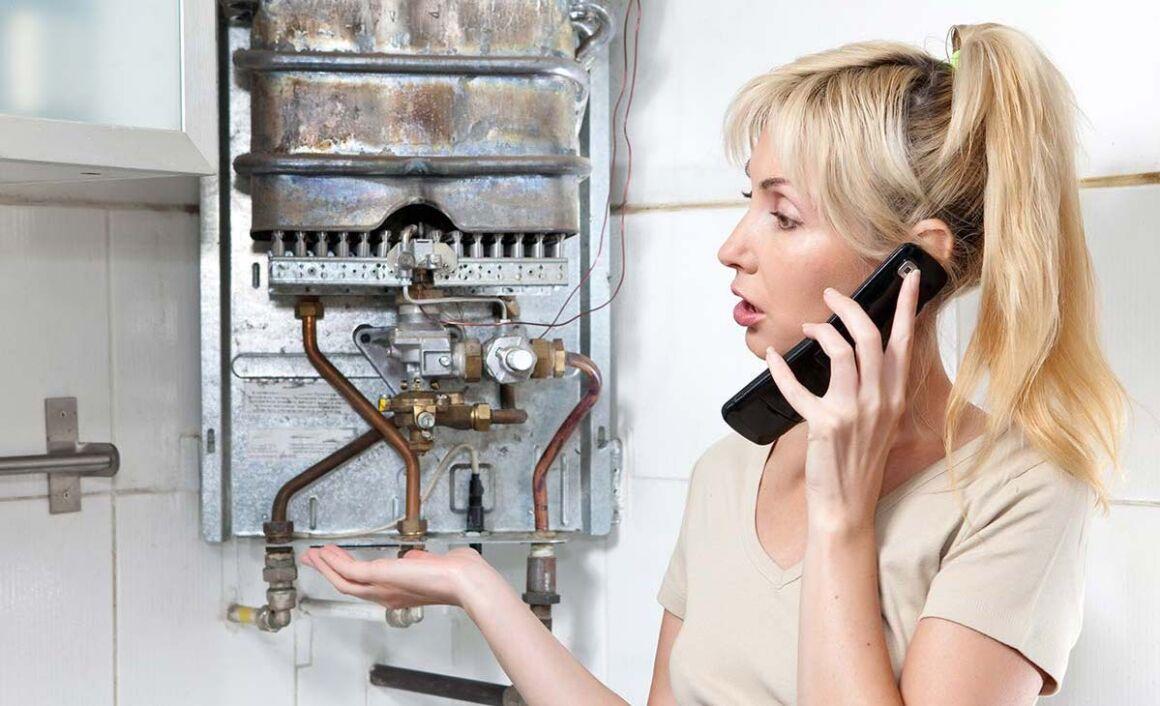 telefonata per sostituire la caldaia