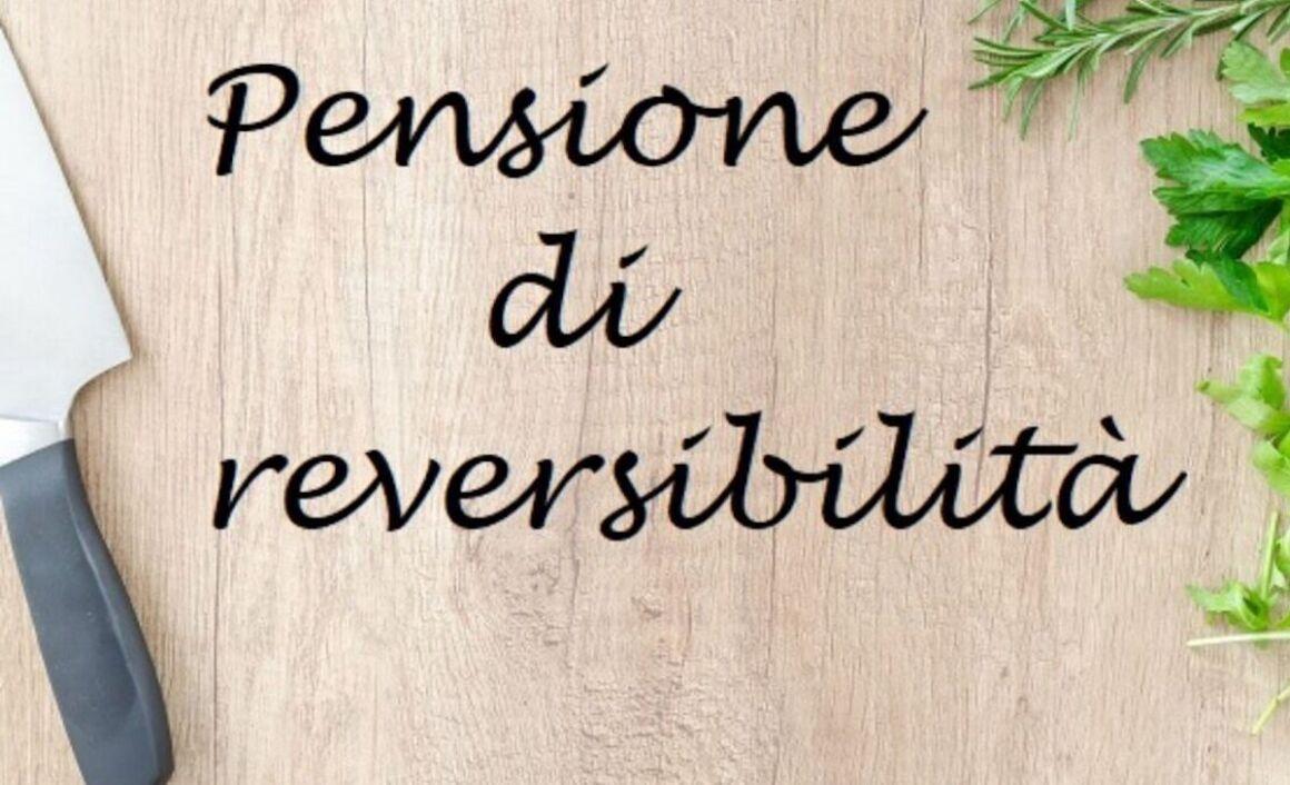 Pensione di reversibilità scritta