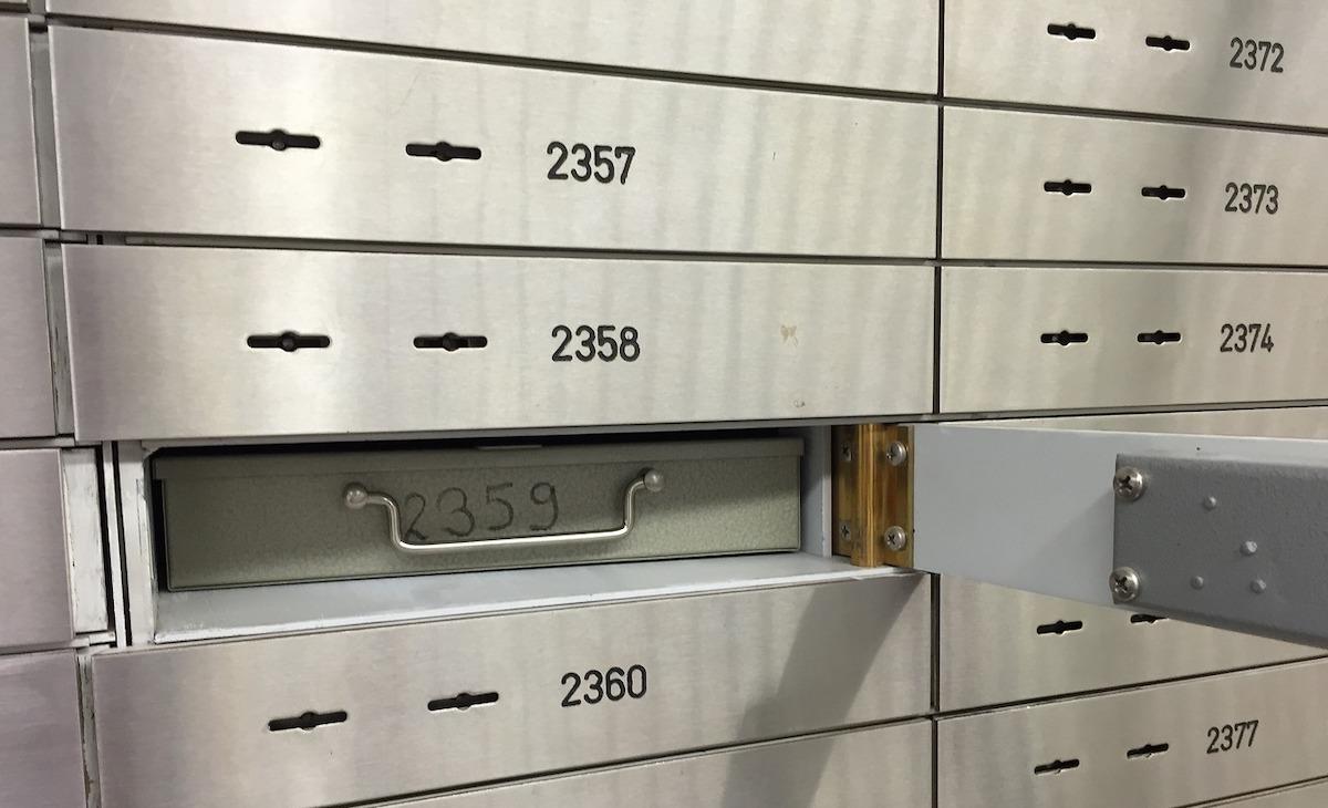 apertura cassetta di sicurezza