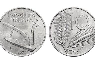 10 lire del 1955: il loro valore