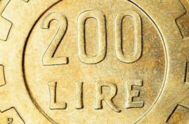 Monete da 200 lire rare