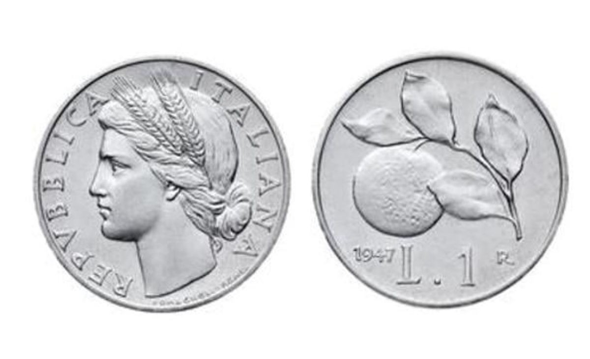 Monete delle lire e degli euro rare