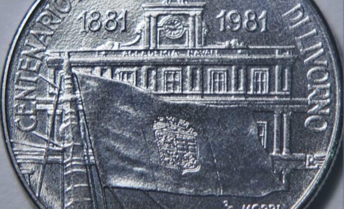 100 lire Accademia Navale di Livorno