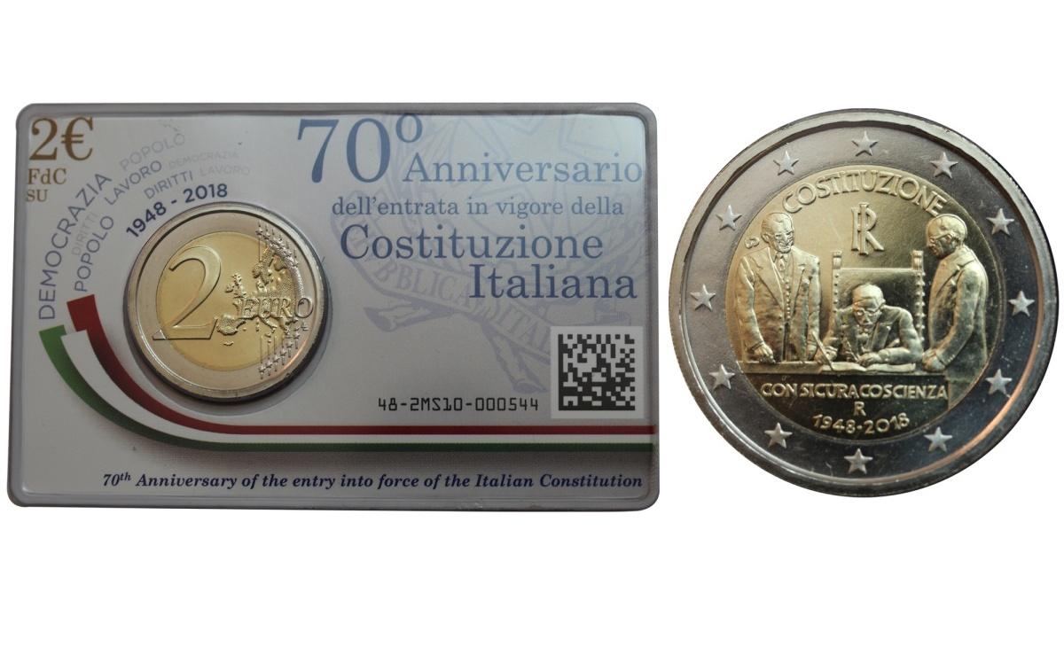 2 euro Costituzione Italiana