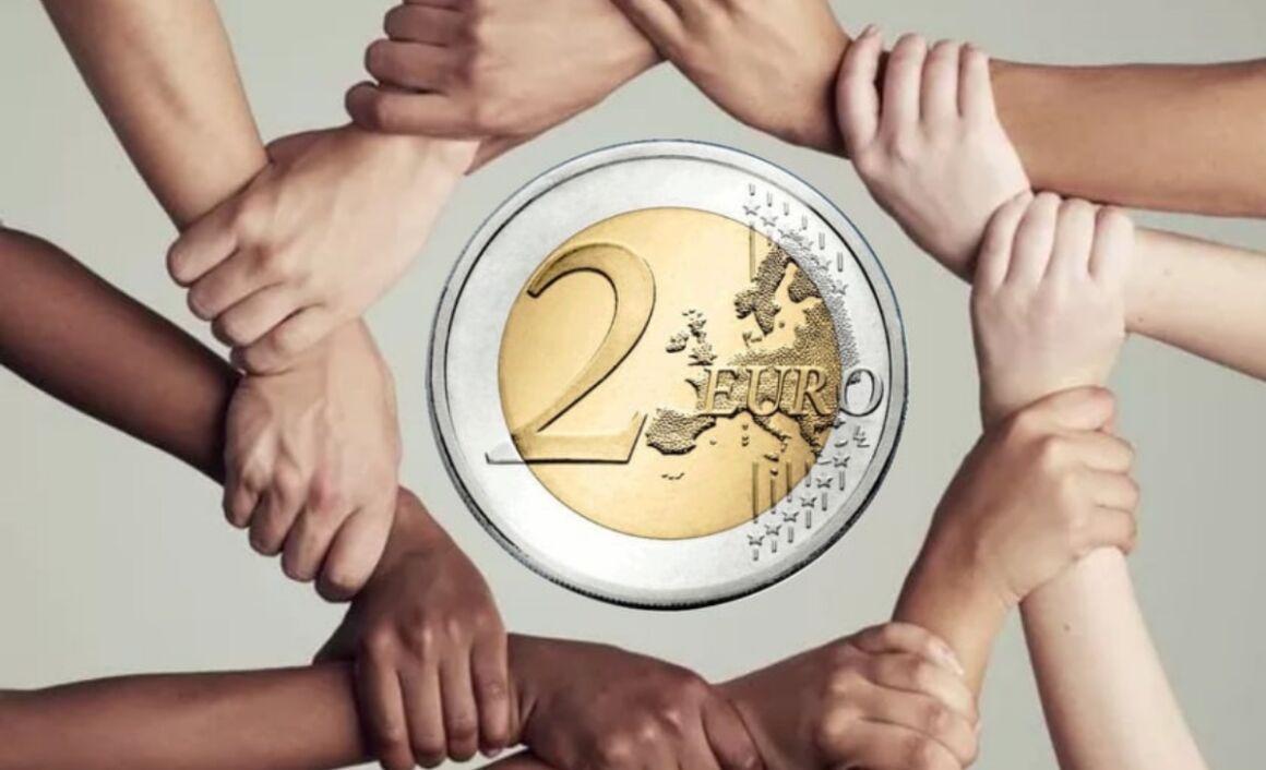 2 euro Diritti Umani Italia 2008