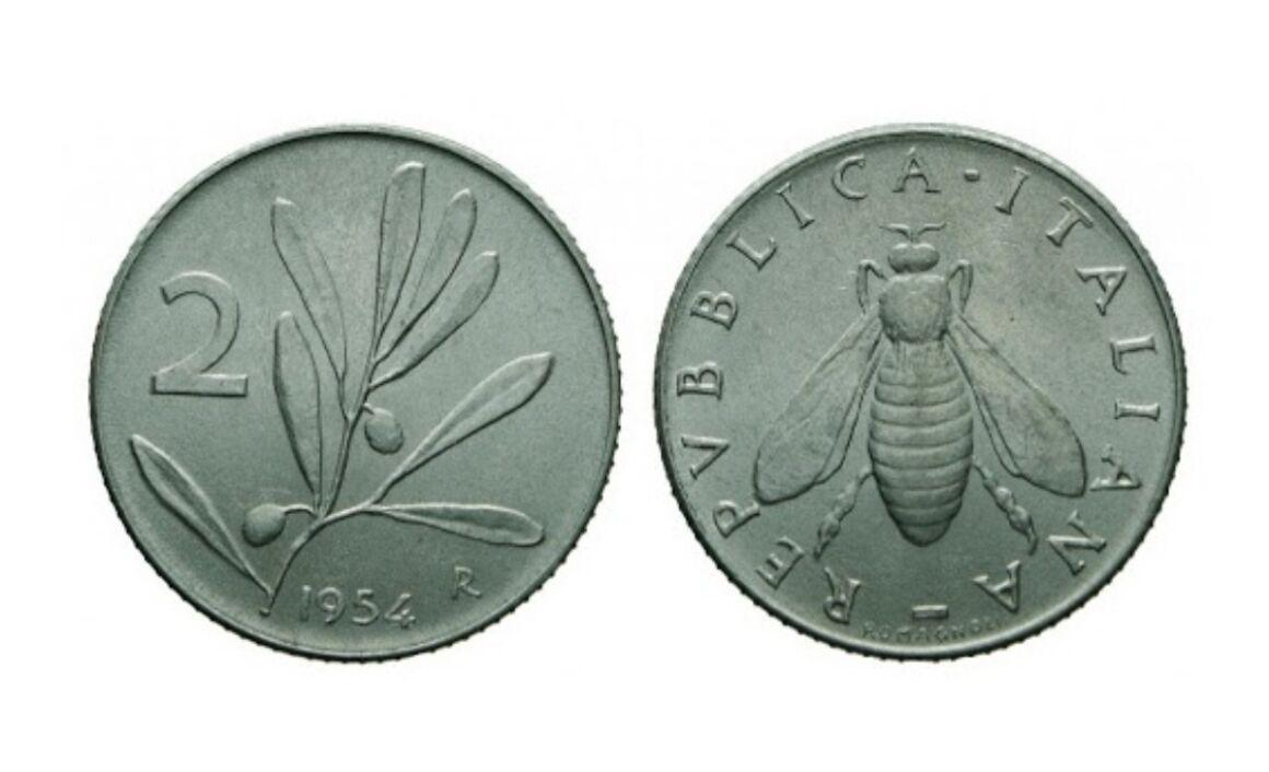 Moneta da 2 lire Ape