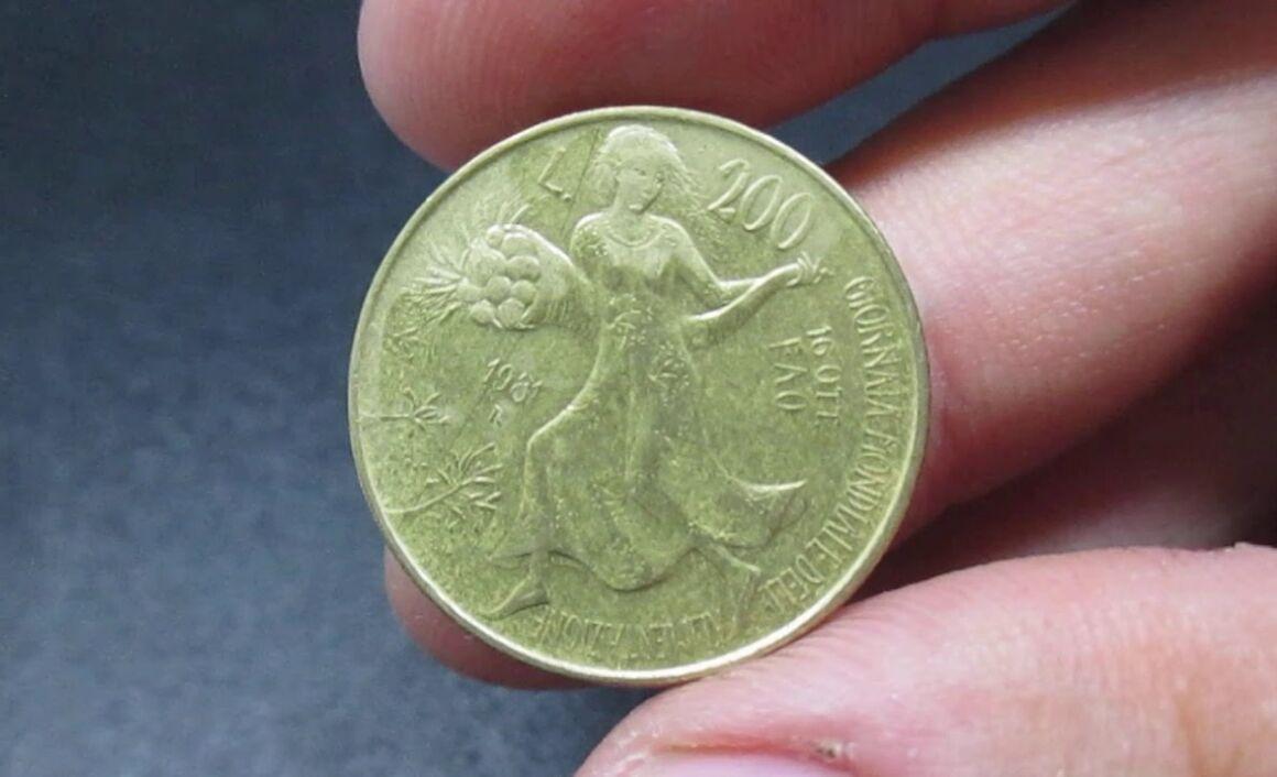 200 lire FAO Villa Lubin