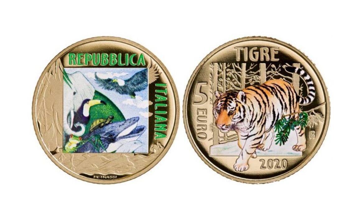 5 euro Tigre