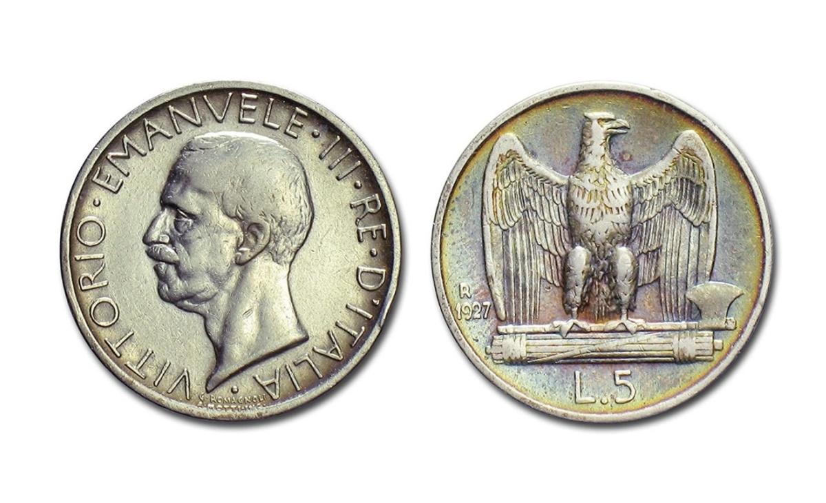 5 lire Aquilotto