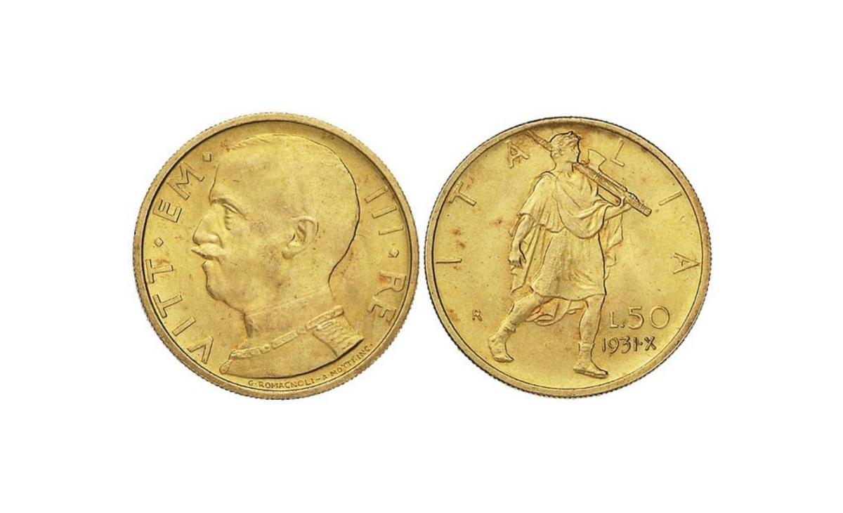50 lire Littore