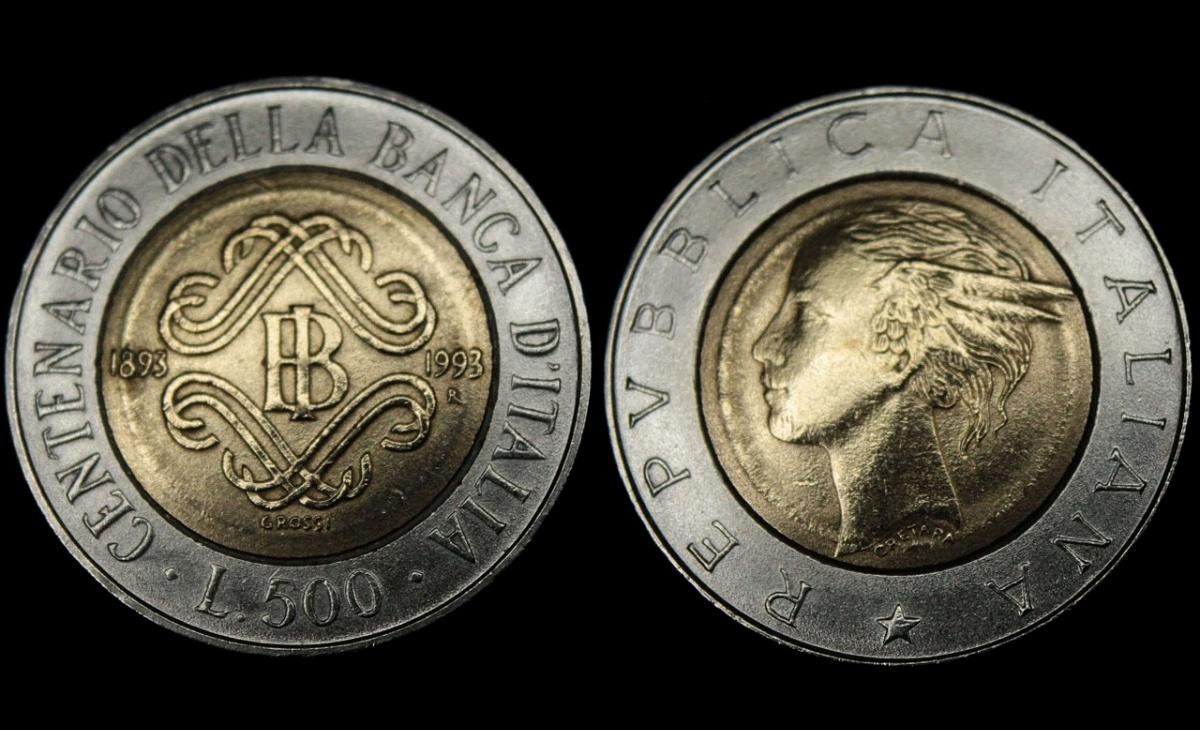 500 lire Centenario della Banca d'Italia