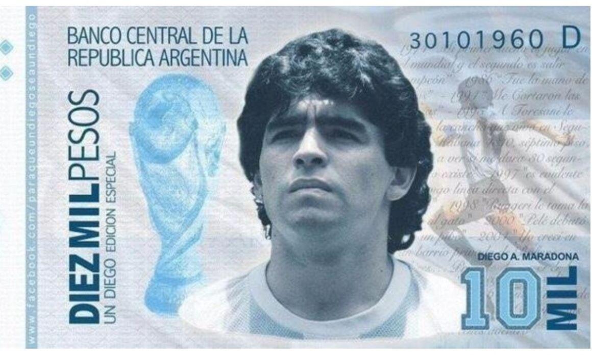 La verità sulla Banconota Diego Armando Maradona
