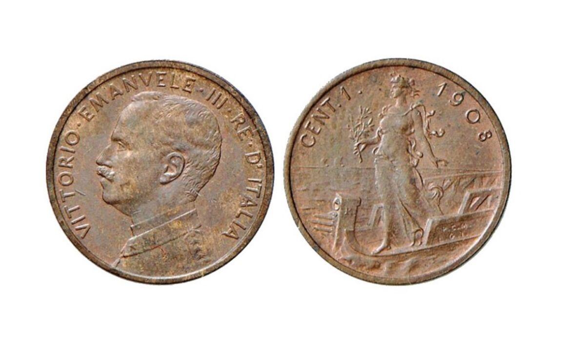 Centesimi di lira 4 mani