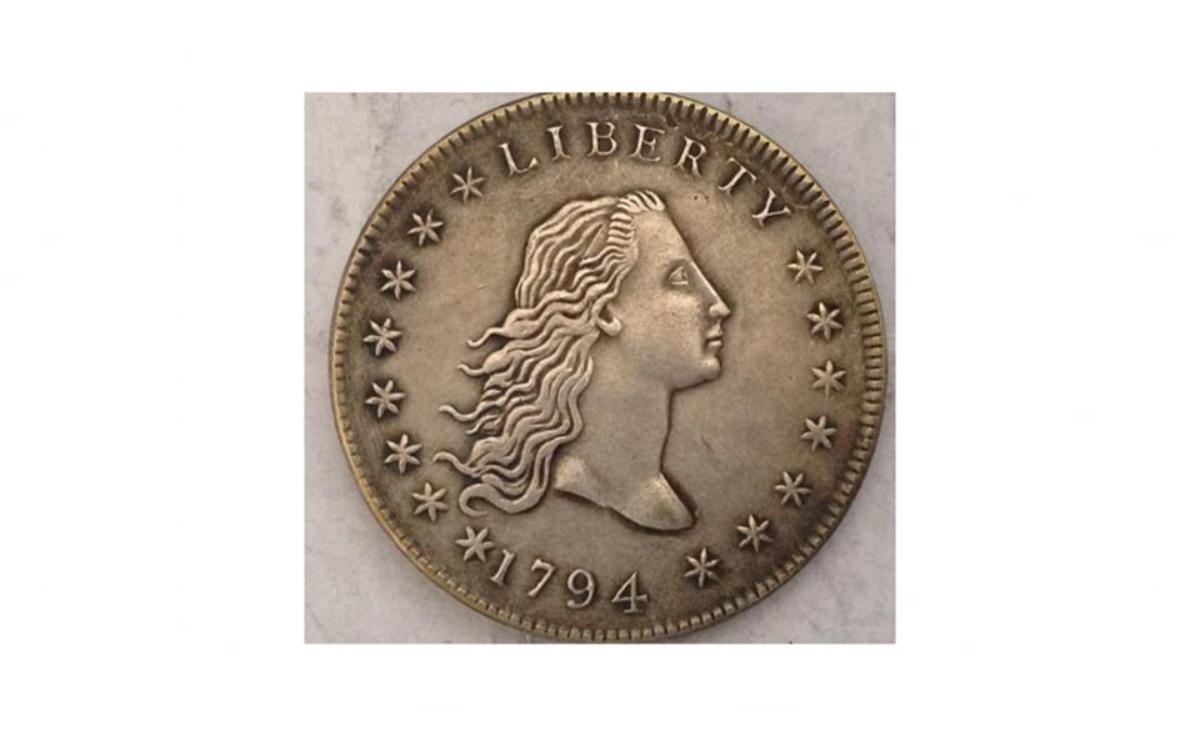 Dollaro capelli fluenti del 1794