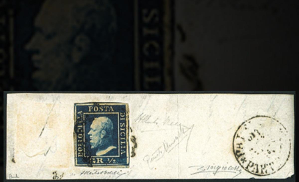 Francobolli di Sicilia del 1859