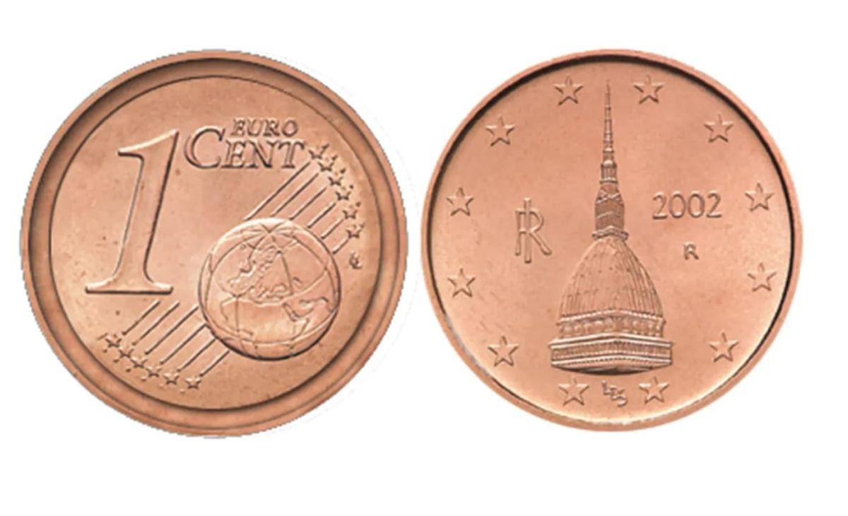 Moneta da 2 centesimi rara
