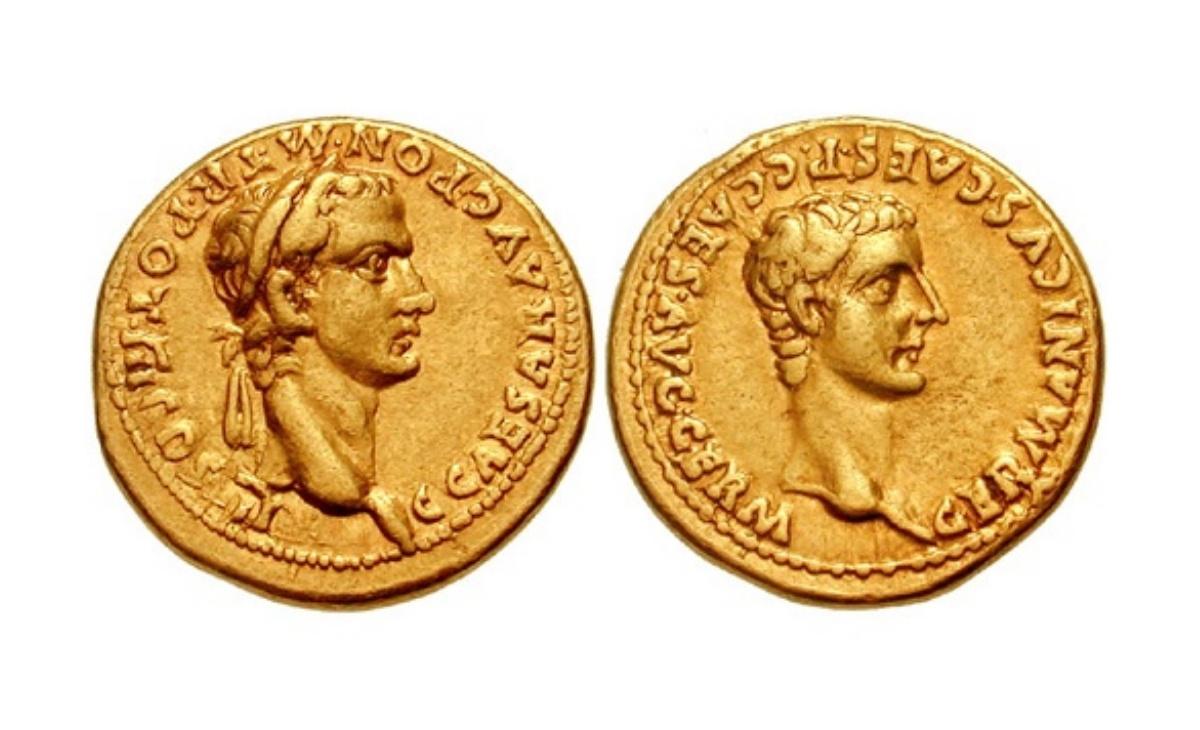 Antiche monete rare romane