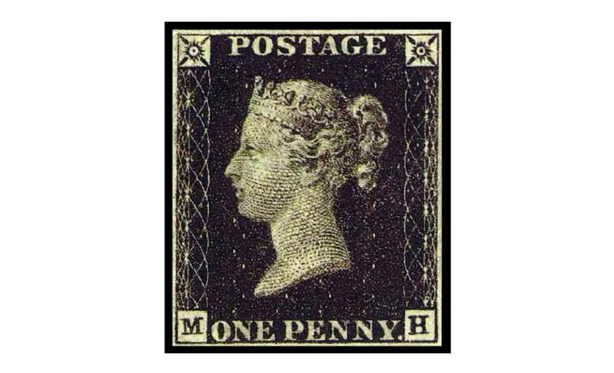 Valore francobollo Penny Black