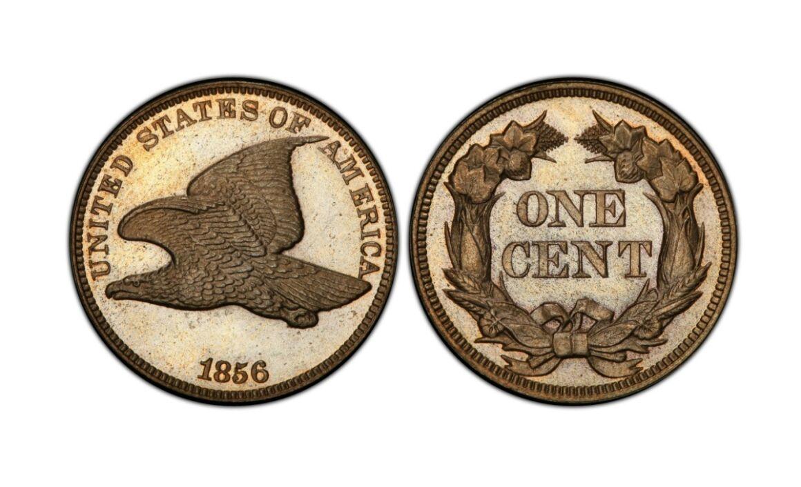 Valore della moneta da 1 Centesimo di Dollaro 1856 Flying Eagle