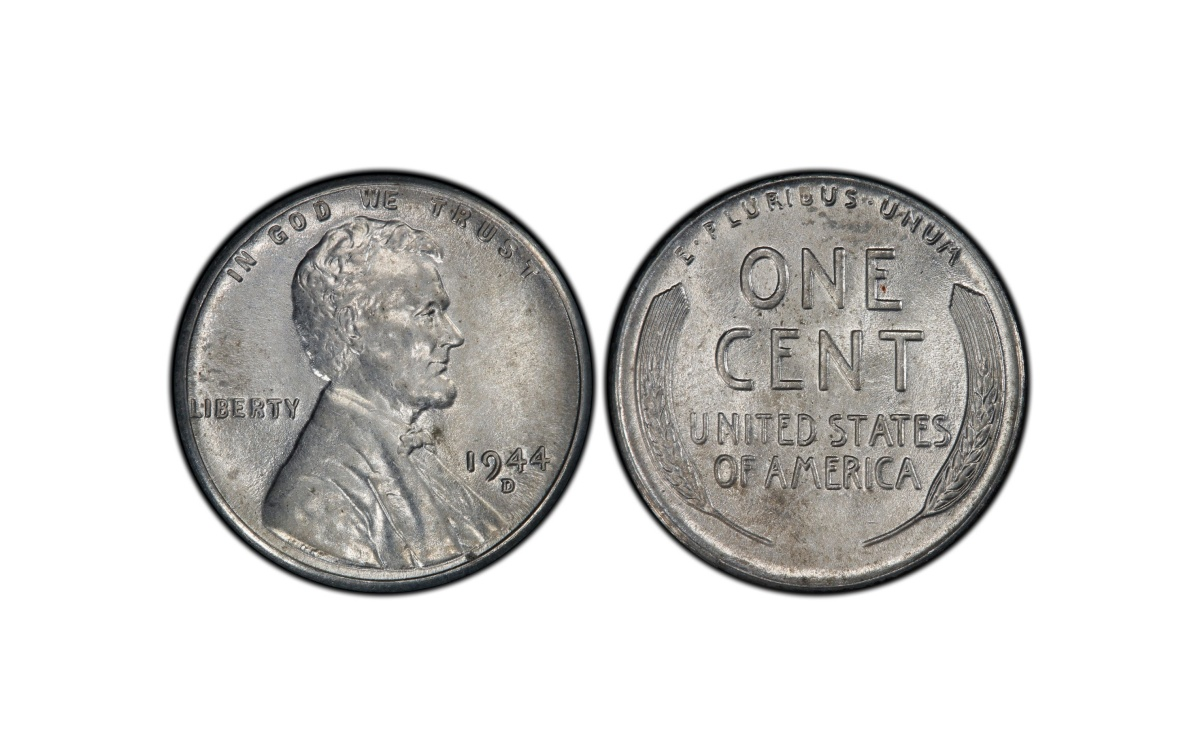 Valore moneta da 1 Centesimo di Dollaro 1944 - D