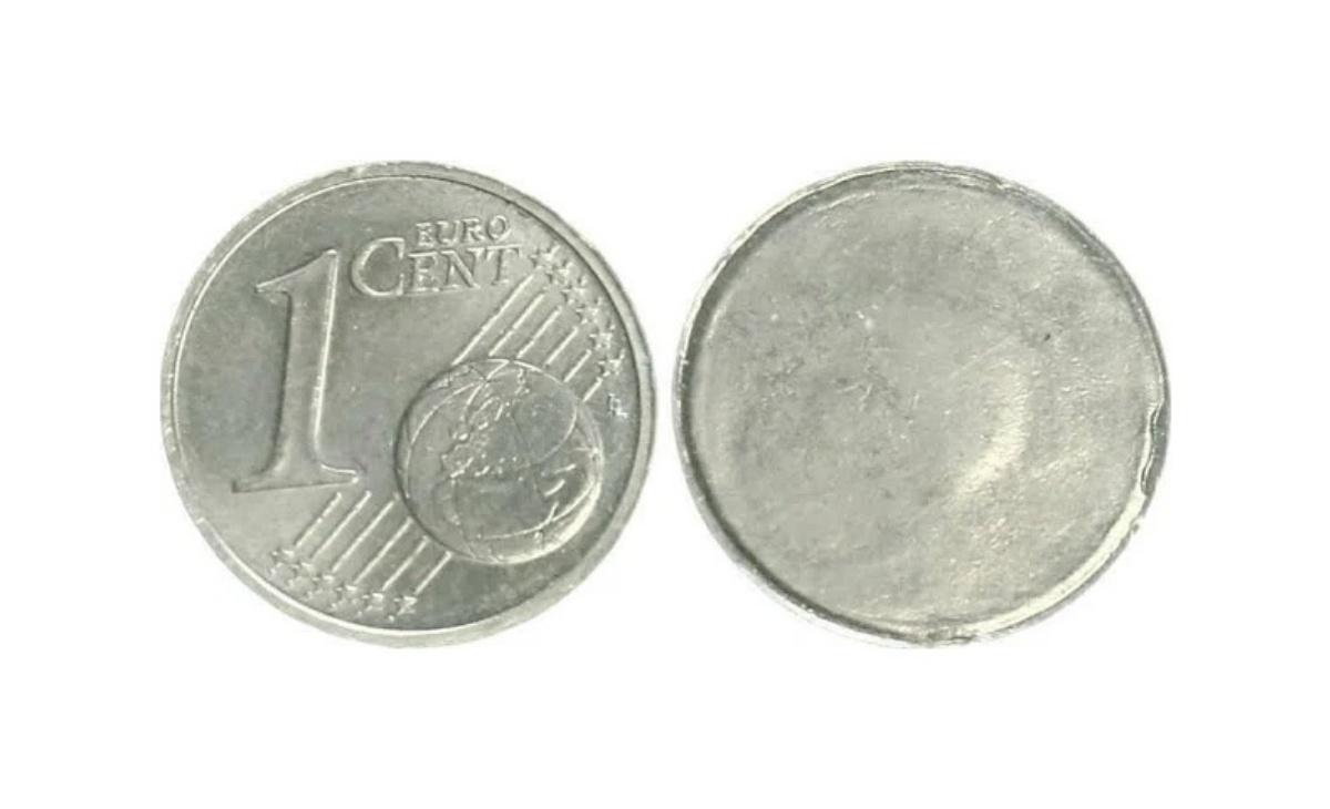 Valore della moneta da 1 Centesimo unilaterale