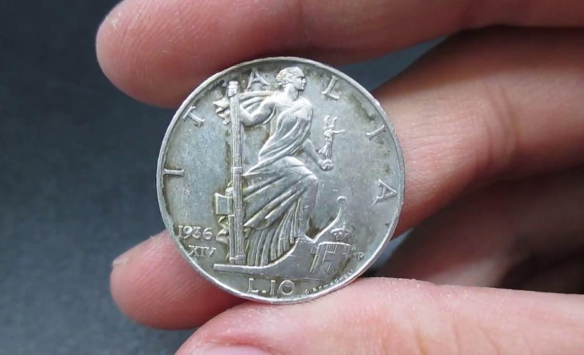 10 Lire Re Vittorio Emanuele III Impero