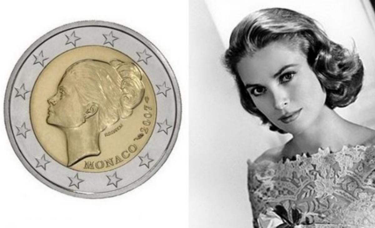 2 euro Grace Kelly del 2007