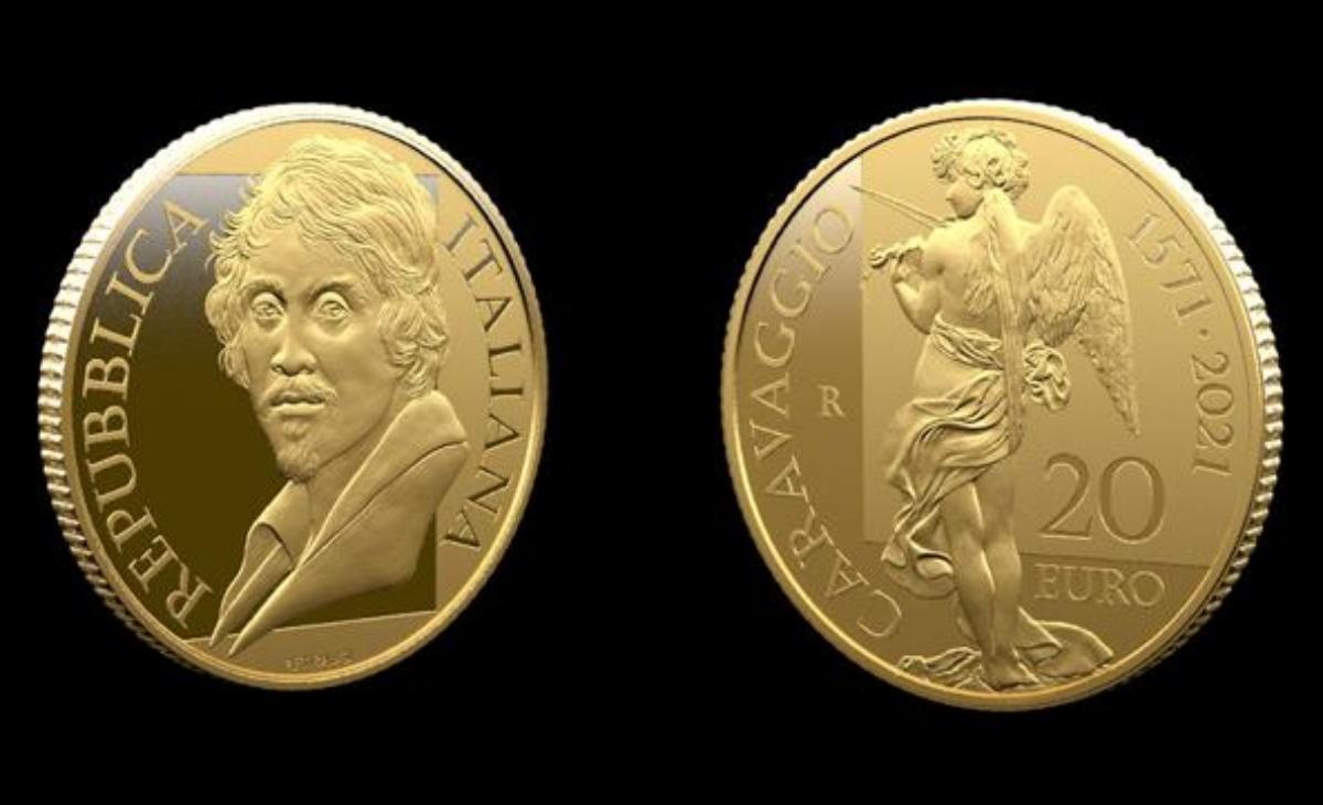 20 euro 450° anniversario della nascita di Caravaggio
