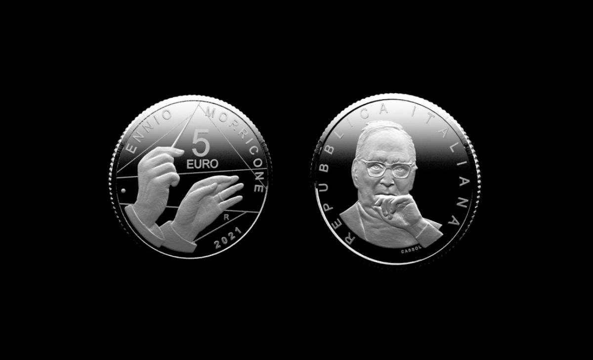 Moneta da 5 euro Ennio Morricone