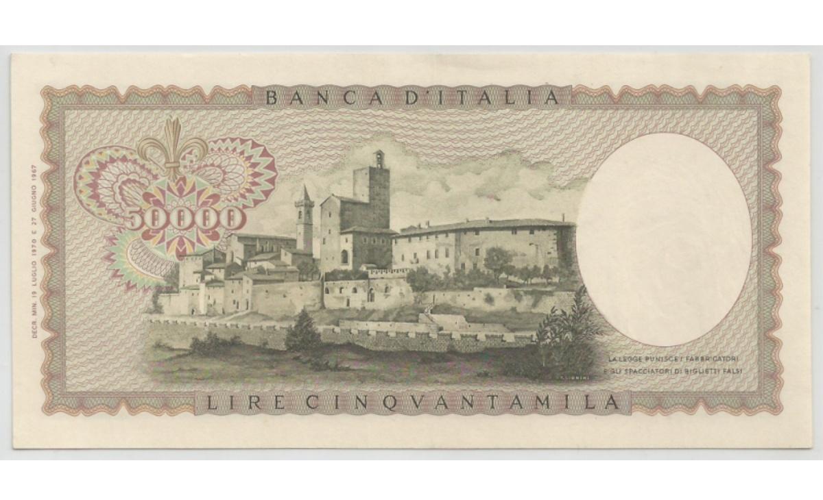 50.000 lire Leonardo