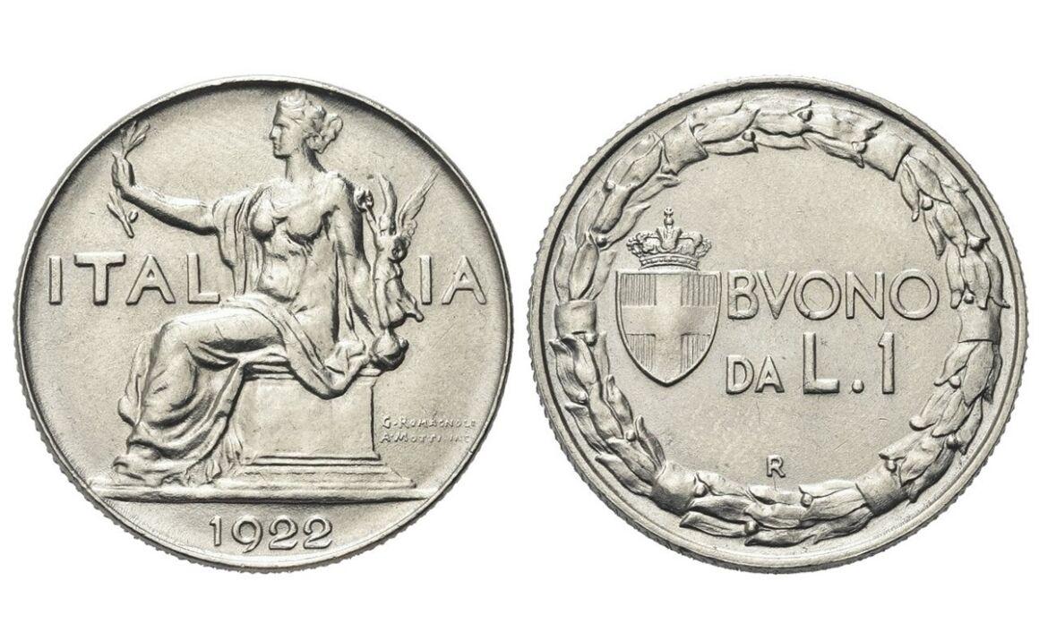 Valore del Buono da 1 lira