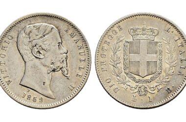 Valore della moneta da 1 Lira Bologna