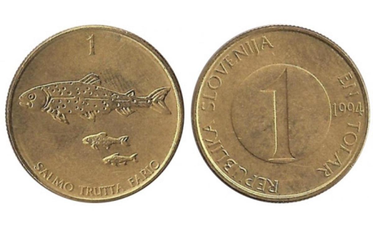 Valore 1 Tallero Sloveno