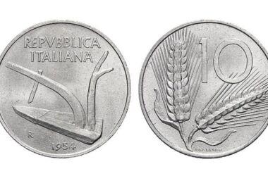 Valore della moneta da 10 Lire Spiga
