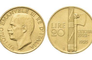 Valore della moneta da 20 Lire Fascio