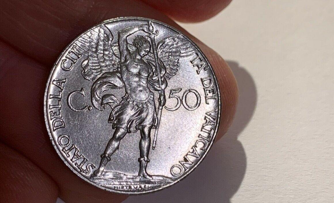 Valore della moneta da 50 Centesimi Papa Pio XII